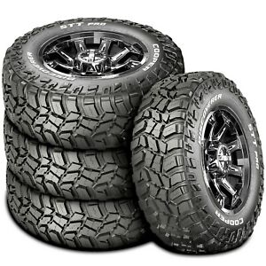 4 New Cooper Discoverer Stt Pro Lt 285 70r17 121 118q E 10 Ply Mt M T Mud Tires