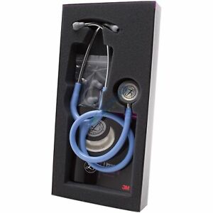 3m 5630 Littmann Classic Iii Stethoscope 27 Ss Finish Chestpiece Ceil Blue Tube