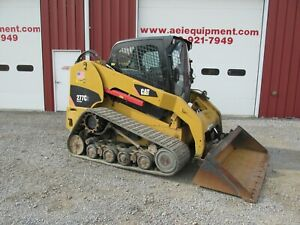 2013 Caterpillar 277c2 2 Speed Track Skid Steer Loader Full Cab A c 2900 Hrs