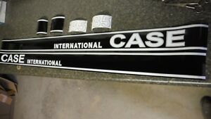 Case International 385 Tractor Decals All Decals On The Hood C details