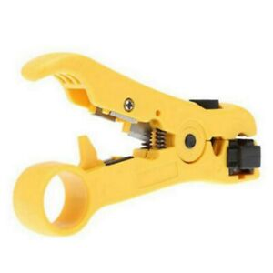 Coax Coaxial Cable Wire Cut Cutter Stripping Tool Cat 5 Rg 59 6 Rg 7 11 Stripper