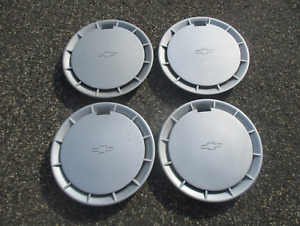 Genuine 1986 To 1988 Chevy Nova 13 Inch Hubcaps Wheel Covers Set