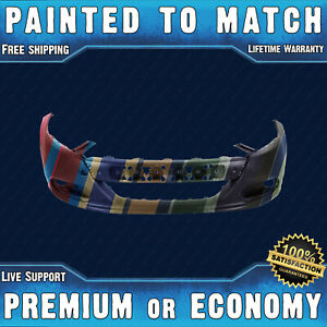 New Painted To Match Front Bumper Cover For 2013 2016 Dodge Dart W Tow Hook