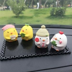Cute Four Chicken Interior Doll Car Decoration Lovely Car Accessories