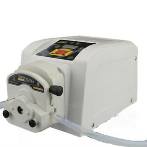 Variable Speed Peristaltic Pump Medical With Foot Pedal Easy Flip top Tubing
