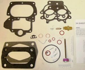 Stromberg Ww Carburetor Rebuild Kit Dodge 1956 62 D