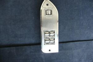 1965 1966 Cadillac Calais Power Window Switches And Plate Cad397