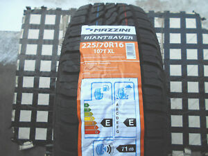 4 New Tires 225 70 16 Mazzini Giantsaver A t All Terrain suv 225 70r16 60k Rated