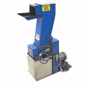 Ims Molders M 3 1 5 hp Injection Plastic Grinder Pelican feed hopper 6 x7 3 ph