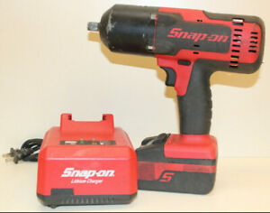 Snap On Ct8850 18v 1 2 Impact Wrench W Battery Charger Free Shipping