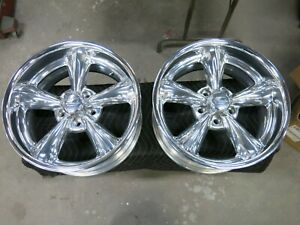 Billet Specialties Legends Series Polished 17 X 8 5 On 4 50 4 75 Back Space