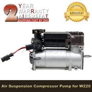 New Air Suspension Compressor For Mercedes S Class W220 W211 W219 2203200104