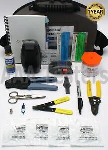 Corning Siecor Lanscape Tkt unicam pfc Sm Mm Fiber Optic Tool Kit Unicam Pretium