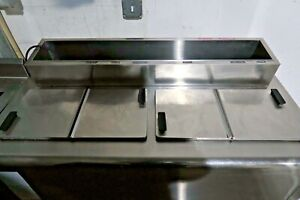 C Nelson Manufacturing Bdf8 Dipping Cabinet Ice Cream Freezers