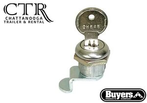 Buyers Products 88ch545 Replacement Lock Cylinder With Key For Bpc Truck Boxes