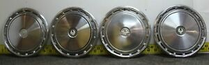 Oem Set Of 15 Hub Caps Wheel Covers 401 C 1977 1978 Chrysler Lebaron 2595