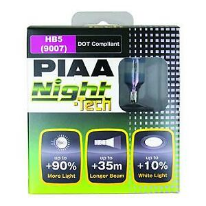 Piaa 10727 9007 Night Tech Bulb Twin Pack