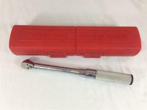 Snap On 3 8 Drive Head Torque Wrench Qd2r200 With Case
