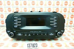 2014 2016 Kia Soul Am Fm Radio Media Bluetooth Sat Mp3 Player 96170 B2090 Oem