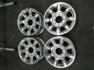 Factory Oem Ford Superduty F250 Wheels 20 Forged Chrome