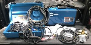 Miller Dynasty 200 Dx High Frequency Tig Welder Only 4 Hours On Unit
