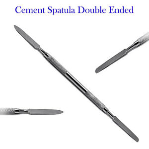 Dental Cement Spatula Bone Mixing Waxing Cravers Restorative Surgical Instrument