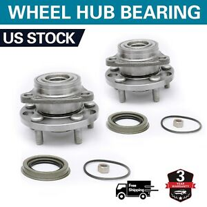 2 Front Wheel Bearing Hub For Pontiac Sunfire Chevy Cavalier Cadillac 513017k