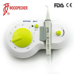 Original Woodpecker Dte D1 Dental Piezo Ultrasonic Scaler With Tips 110v Usa