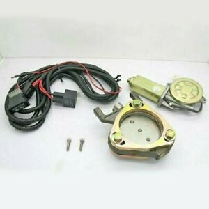3inch Universal Suit Electronic Exhaust Remote Control Valve Motor Cutout Kit