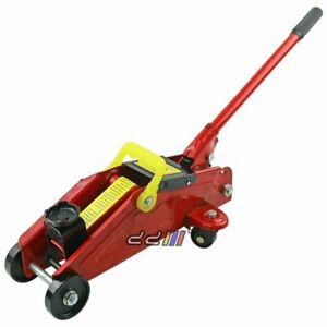 New Portable 2 Ton Trolley Floor Jack Car Truck Suv 4x4 Hydraulic Lift 2000kg