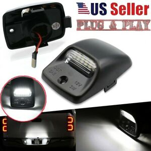 2pcs Rear Bumper Tag Led License Plate Light Lamp For Toyota Tacoma Tundra 05 15