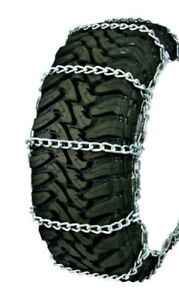 Wallingfords Wide Base Non cam 35 14 00 16 5 Truck Tire Chains 3231i