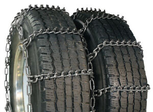 Wallingfords Aquiline Talon Dual 8 75r16 5 Truck Tire Chains 5319ascam