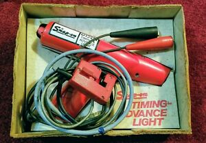 Nice Vintage Snap On Mt241a Timing Advance Light Tested In The Box