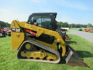 2015 Caterpillar 239d Tracked Skid Steer Loader Very Clean