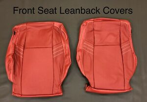 New 2015 19 Dodge Challenger Roadwire Red Leather Seat Covers Kit Sxt R t