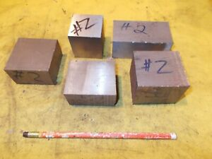 12 2 Lb Lot Of 2 Mold Steel Bar Tool Die Shop Flat Stock Various Sizes