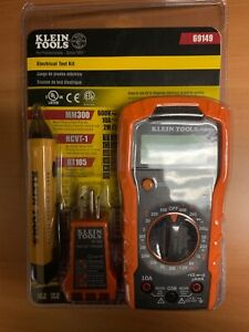 Klein Tools 69149 Electrical Test Kit mm300 Ncvt 1 Rt105 New Free Shipping