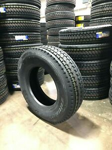 4 New 11r22 5 Thunderer Ld422 Tires Closed Shoulder Drive 14ply Truck 144l 11225