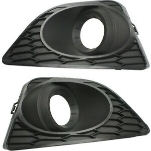 Fog Light Trim For 2010 2012 Ford Fusion Driver And Passenger Side