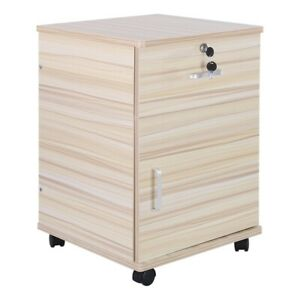 File Cabinet Drawer Mobile With Lock Casters Legal Letter Storage Office Home