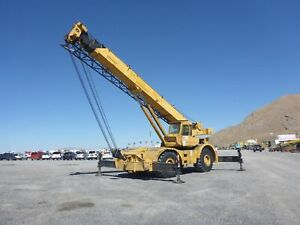 1979 Grove Rt65s 35 Ton Rough Terrain Crane 4x4 stock 2632