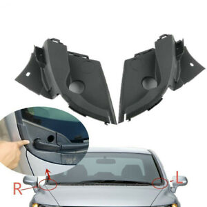Pair Windshield Wiper Arm Cowl Vent Trim Cover Panel For Honda Civic 06 11 Ciimo