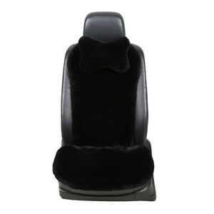 Sheepskin Fur Car Seat Cover Wool Car Seat Cushion For Adults 1 Seat From Usa