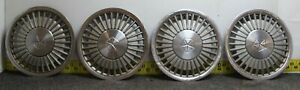 Oem Set Of 4 14 Hub Caps Wheel Covers 1984 88 Chrysler Caravelle Lebaron 2691