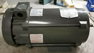 New Baldor 1 Hp Electric Dc Motor 180 Vdc 1750 Rpm 56c Frame Cd5318