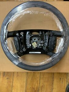 2006 2008 Cadillac Dts Steering Wheel Black Leather