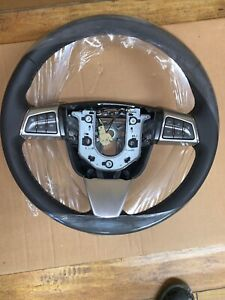 2008 Cadillac Sts Steering Wheel Black Leather Gm 25921223
