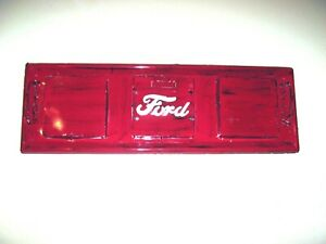 Vintage 1950 s Ford Truck Metal Tailgate Replica Wall Mount Hand Built Red