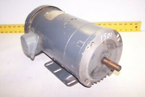 Ge 1 Hp Electric Dc Motor 1725 Rpm 56 Frame 5bcd56rd376